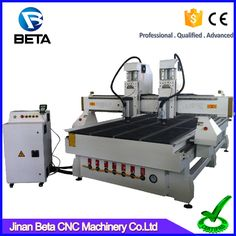 hot sale double head wood cnc router for furniture,3d cnc cutting machine for MDF acrylic PVC