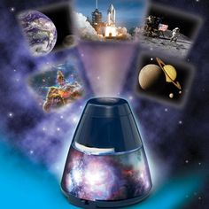 Brainstorm Space Explorer Room Projector Discover the Universe with your very own Space Explorer Room Projector. View 24 NASA photographs with this fascinating projector which also transforms into a cool nebula night light. Use the high qual http://www.MightGet.com/january-2017-13/brainstorm-space-explorer-room-projector.asp