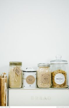 Organize your pantry with these FREE Printable lables! No more looking for the gluten-free pasta!! Designed by Elephantshoe