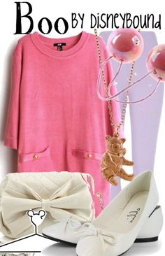 I'm not much of a fan of the color pink but i absolutely LOVE Boo and this is really cute!