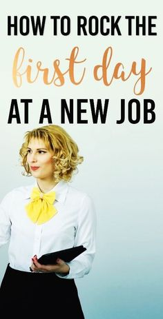 How to make a great first impression at a new job! | The Practical Penny |Starting any new job can be tough. You survived the interview but you want to make a great first impression. How do you rock your first day at the office?
