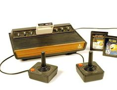Atari-- we spent a good portion of one summer at my maternal grandmother's playing PacMan. We were waiting to rejoin my dad who had gone ahead to West Germany.