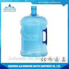 5 gallon/19 liters/18.9 liters plastic PET water bottle