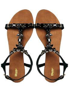 Dune London gem sandals