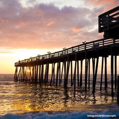 Sunrise at Kitty Hawk Pier :: Outer Banks of North Carolina