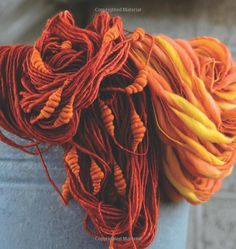 Amazon.co.jp: Spin Art: Mastering the Craft of Spinning Textured Yarn: Jacey…
