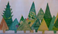 Kerstboomcollage