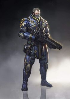 Image result for awesome fantasy/sci fi soldiers