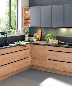 Black Kitchen Decor, Kitchen Room Design, Best Kitchen Designs, Modern Kitchen Design, Living Room Kitchen, Home Decor Kitchen, Rustic Kitchen, Interior Design Kitchen, Kitchen Furniture