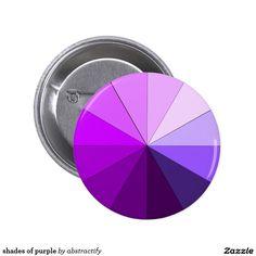 shades of purple 2 inch round button