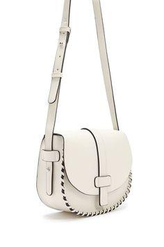 c5bd7bc71a Faux Leather Braided Crossbody Bag
