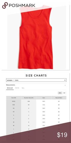 J. Crew Good Match Shell Introducing one of many latest T-shirt silhouettes: the.... *** Learn more by checking out the image link More info at  https://poshmark.com/listing/J-Crew-Perfect-Fit-Shell-5835fee5f09282d06b00476c?utm_campaign=referral_code%3DHSFMK&utm_content=feature%3Dnw_l%26rfuid%3D515c4eb09f9d1e2644008922%26post_roll%3Dstitched_v1&utm_source=pi_sh_pub