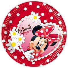 No me digais que no son preciosos estos platos decorados para un cumpleaños de Minnie Mouse super cool. Podeis ver más artículos en nuestra tienda http://www.articulos-fiestas-infantiles.es/142-fiesta-cumpleanos-minnie-mouse