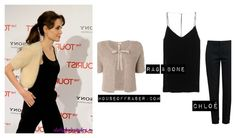 Steal the Style: Angeline Jolie.   www.fracasnoir.com
