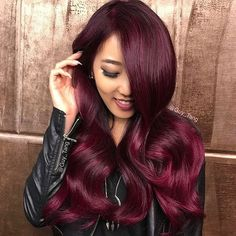 STYLIST FEATURE| Color crushing on this #haircolor by @guy_tang So rich #voiceofhair ========================== Go to VoiceOfHair.com ========================= Find hairstyles and hair tips! =========================