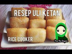Cara Membuat Uli Ketan Di Rice Cooker Enak Gurih Youtube Resep Masakan Indonesia Makanan Jalanan Makanan
