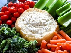 Dill Dip | Dill Dip, Dips and Healthy