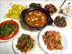 집밥이 그리운 자취생 아들위한 시골밥상, 밑반찬 레시피^^*