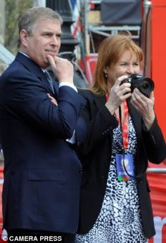 Are they on again? Could Andrew and Fergie then be the Burton and Taylor of the House of Windsor?