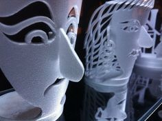 This is soooo @Josh Edmonds!!  I love it- can't wait to see some of his work!  :)  Styrofoam Cup Sculptures by Katy Hallgren, via Flickr