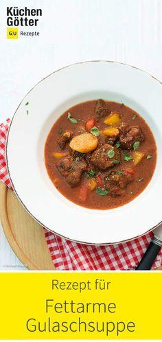 Fett, Inspiration, Soups And Stews, Goulash Soup, Food Portions, Biblical Inspiration, Inspirational, Inhalation