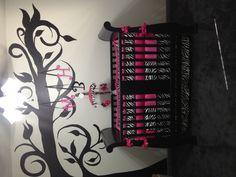 Baby girls room!! @Jillian Stapleton