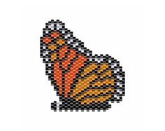 # Parenting ilustration Artículos similares a Butterfly Beading Pattern / Monarch Butterfly Jewelry / brick stitch pattern, peyote stitch pattern, beaded pendant pattern, nature inspired en Etsy Peyote Stitch Patterns, Bead Embroidery Patterns, Loom Patterns, Beading Patterns, Beaded Embroidery, Crochet Patterns, Art Patterns, Bracelet Patterns, Knitting Patterns
