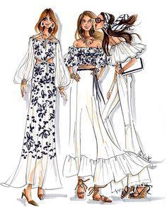 Fashion Design Drawings, Fashion Sketches, Fashion Art, Fashion Outfits, Womens Fashion, Dressy Attire, Fashion Illustration Dresses, Models, Fashion Stylist