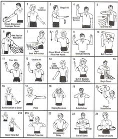 Volleyball ref signals Volleyball Referee, Volleyball Memes, Volleyball Clubs, Basketball Drills, Volleyball Training, Beach Volleyball, Volleyball Hand Signals, Volleyball Practice, Volleyball Skills