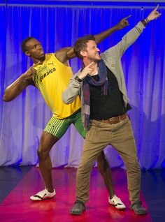 Strike a pose with Usain Bolt at Madame Tussauds London