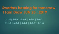 Swertres Hearing JUNE 23 2019 – At this page you can find the Swertres results. The triumphant mixes underneath are the expert PCSO lot. Jun, Numbers, Draw, Unique, Character, To Draw, Sketches, Painting, Tekenen