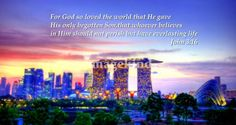John 3:16, Cityscape Singapore Marina
