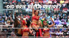 WWE's Brie Bella makes a shocking announcement: April 8, 2016