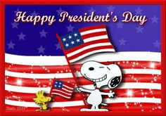 Wishing everyone a very Happy President's Day! Snoopy Love, Charlie Brown And Snoopy, Snoopy And Woodstock, Presidents Day Holiday, Happy Presidents Day, Peanuts Cartoon, Peanuts Snoopy, Good Morning Happy, Happy Day