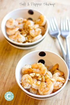 Salt and Pepper Shrimp- the easiest, most foolproof way to make insanely delicious shrimp! Phase three or skip the oil and use chicken broth for phase two.