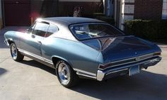 1968 CHEVROLET CHEVELLE SS 396 COUPE - 40015