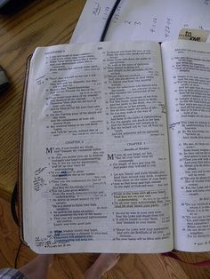 50 essential verses to memorize--great list of key scriptures everyone should know.