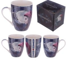 Fantasy New Bone China Lisa Parker Red Riding Hood Mug