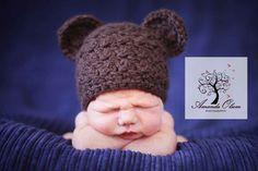 crochet hat. Cute!