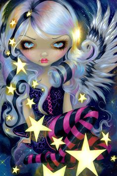 Angel Starlight by Jasmine Becket-Griffith | DecalGirl
