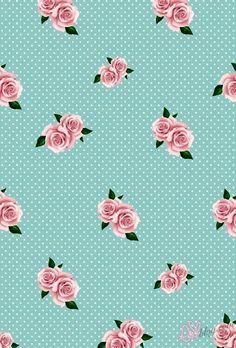 Rose pois tuffano iPhone 6 plus wallpaper