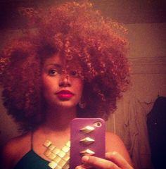 CurlsUnderstood.com: Like a boss... @René Daniella