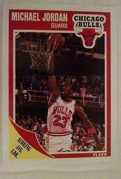 9f4abb42440fca 1989-90 Fleer  21 Michael Jordan Team  Chicago Bulls