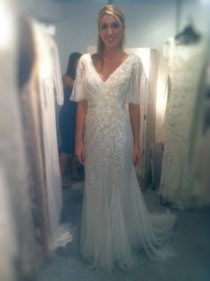 Essential beauty on this wedding dress!
