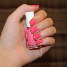 essie guilty pleasures (strawberry pink for summer)
