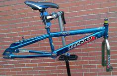 Dyno VFR BMX Bicycle Frame & Fork Green 100% Steel Old School Bike W/ EXTRAS #Dyno