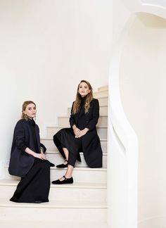 "Ashley and Mary-Kate Olsen are about to open their most beautiful The Row store yet""On Tuesday morning, this was the scene at 17 East 71st Street, a three-story townhouse in New York and the location of The Row's first store in the city: Art was..."