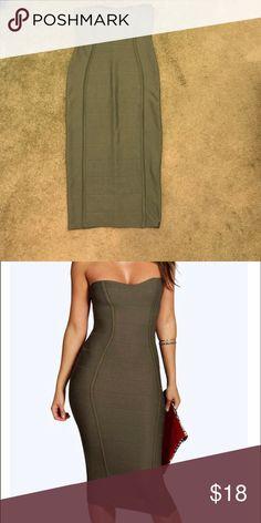 Body con dress Sexy body con dress Boohoo Dresses Midi