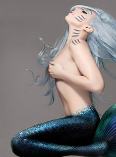 lady gaga mermaid                                                                                                                                                                                 More Magical Creatures, Lady Gaga Fashion, The Fame Monster, Lady Gaga Photos, Girl Crushes, Female Singers, Divas, Love Her, Queen