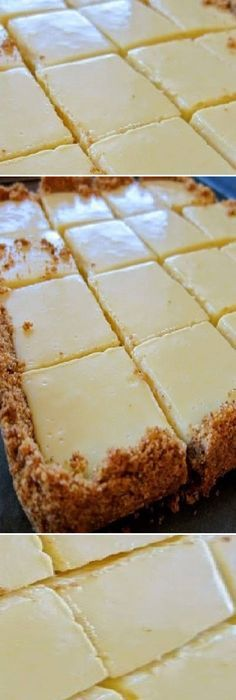 Cuadros cremosos de limón Baking Recipes, Cake Recipes, Dessert Recipes, Mini Cakes, Cupcake Cakes, No Bake Desserts, Delicious Desserts, Mexican Food Recipes, Sweet Recipes